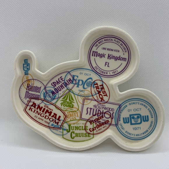 Disney jewelry plate